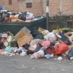 Guanajuato candil del centro, basura en las orillas